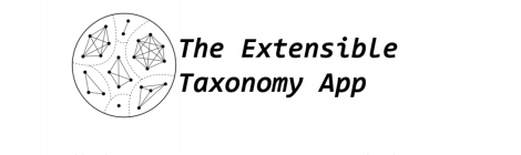 Our extensible taxonomy is Live!